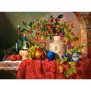 Castorland - Маса в Капри - 3000 части - картина