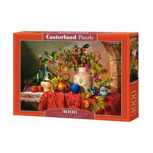 Castorland - Маса в Капри - 3000 части - кутия