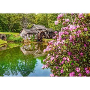 Castorland - Мелница край езерото - 500 части - картина