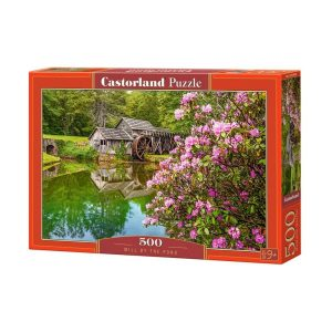 Castorland - Мелница край езерото - 500 части - кутия
