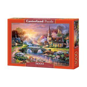 Castorland - Мирни отражения - 3000 части - кутия