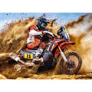Castorland - Мотокрос състезател - 300 части - картина