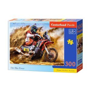 Castorland - Мотокрос състезател - 300 части - кутия