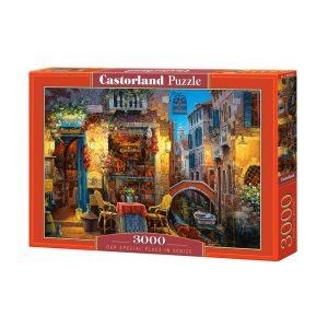 Castorland - Нашето специално място във Венеция - 3000 части - кутия