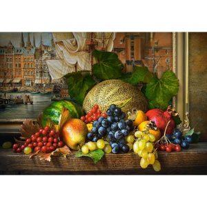 Castorland - Натюрморт с плодове - 1500 части - картина