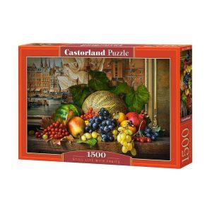 Castorland - Натюрморт с плодове - 1500 части - кутия