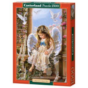 Castorland - Нежна любов, Сандра Кук - 1500 части - кутия