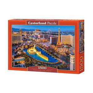 Castorland - Невероятният Лас Вегас - 1500 части - кутия
