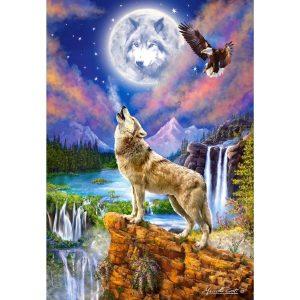 Castorland - Нощта на вълка - 1500 части - картина