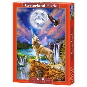 Castorland - Нощта на вълка - 1500 части - кутия