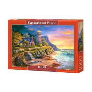 Castorland - Осветяване на пътя - 1000 части - кутия