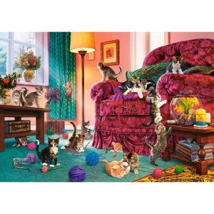 Castorland - Палави котенца - 500 части - картина
