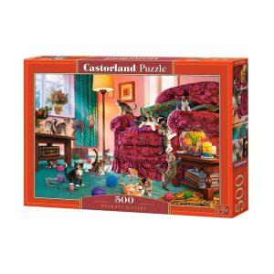 Castorland - Палави котенца - 500 части - кутия
