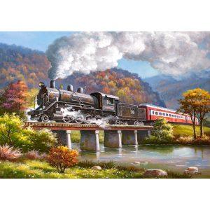 Castorland - Парен локомотив - 500 части - картина