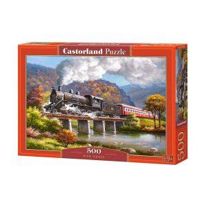 Castorland - Парен локомотив - 500 части - кутия