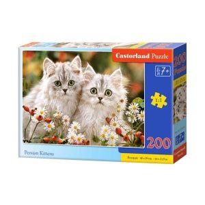 Castorland - Пресийски котета - 200 части - кутия