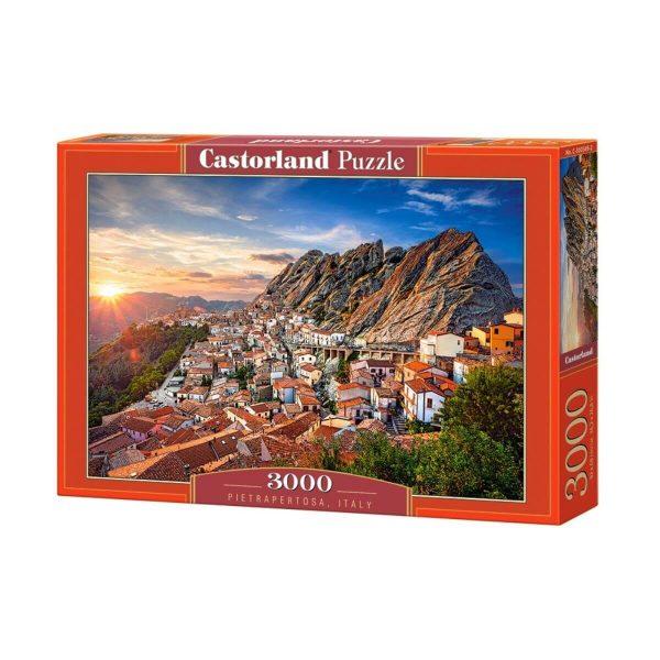 Castorland - Пиетрапертоза, Италия - 3000 части - кутия