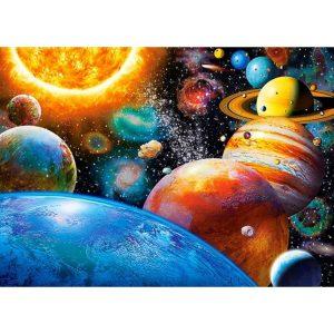 Castorland - Планетите и техните луни - 180 части - картина