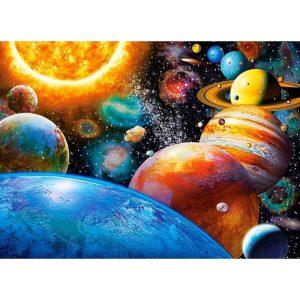 Castorland - Планетите и техните луни - 300 части - картина