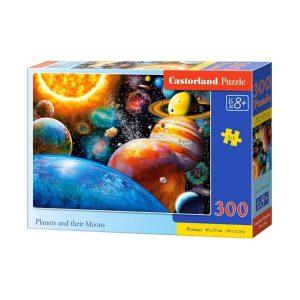 Castorland - Планетите и техните луни - 300 части - кутия
