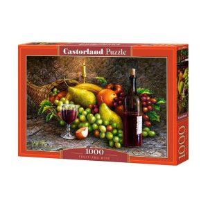 Castorland - Плодове и вино - 1000 части - кутия