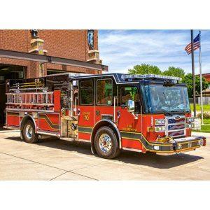 Castorland - Пожарна кола - 180 части - картина