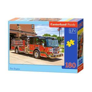 Castorland - Пожарна кола - 180 части - кутия