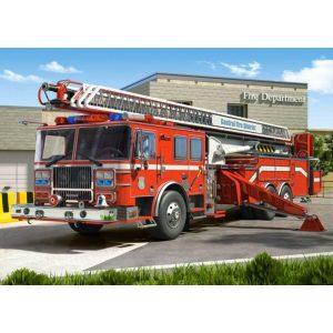 Castorland - Пожарна кола - 260 части - картина