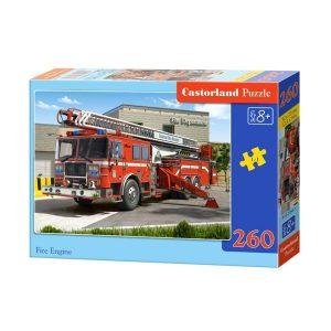 Castorland - Пожарна кола - 260 части - кутия