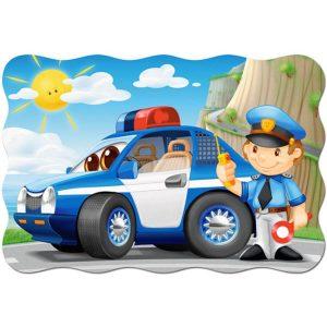 Castorland - Полицейски патрул - 20 XXL части - картина