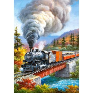 Castorland - Преминаващ влак - 500 части - картина