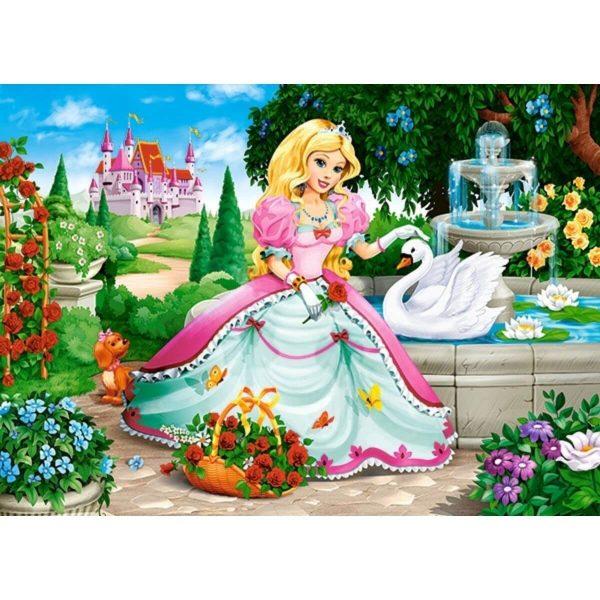Castorland - Принцесата и лебеда - 60 части - картина