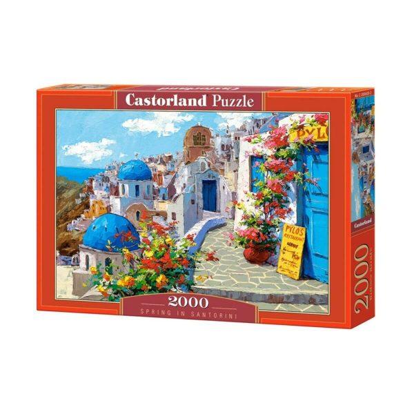 Castorland - Пролет в Санторини - 2000 части - кутия