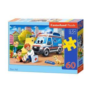 Castorland - Първа помощ - 60 части - кутия