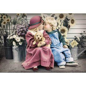 Castorland - Първата любов - 1000 части - картина