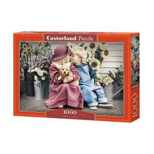 Castorland - Първата любов - 1000 части - кутия