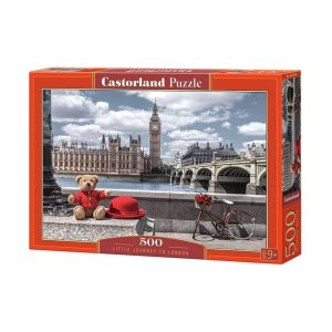 Castorland - Пътешествие до Лондон - 500 части - кутия