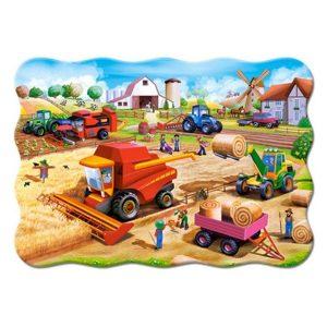 Castorland - Работа във фермата - 20 XXL части - картина