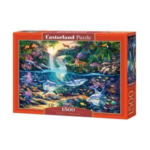 Castorland - Рай в джунглата - 1500 части - кутия