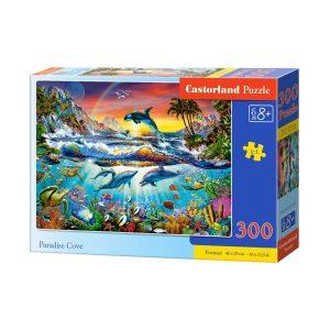 Castorland - Райски залив - 300 части - кутия