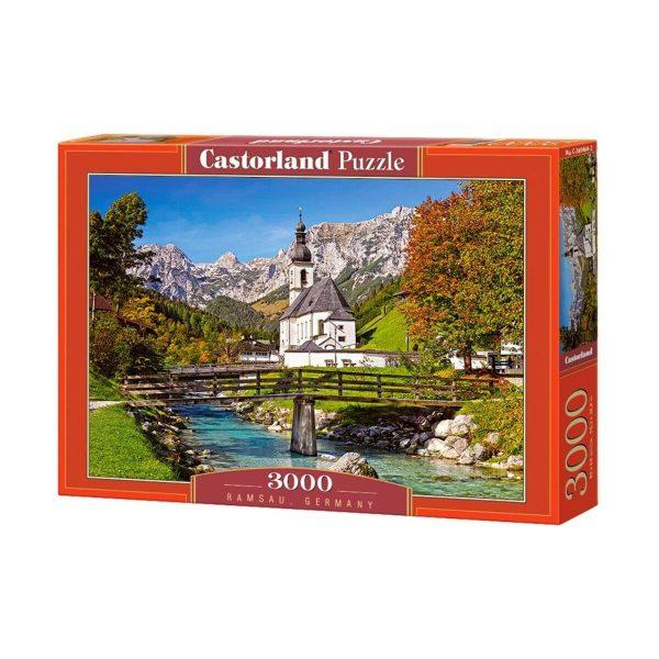 Castorland - Рамзау, Германия - 3000 части - кутия