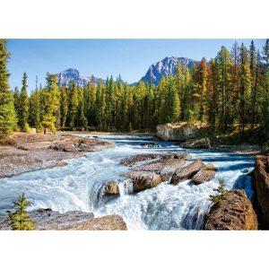 Castorland - Река Атабаска, Национален парк Джаспър, Канада - 1500 части - картина