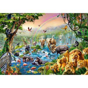 Castorland - Река в джунглата - 500 части - картина