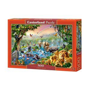 Castorland - Река в джунглата - 500 части - кутия