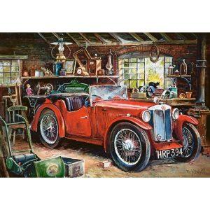 Castorland - Ретро кола - 1000 части - картина