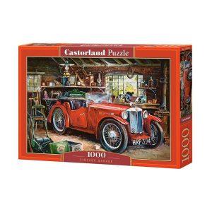 Castorland - Ретро кола - 1000 части - кутия