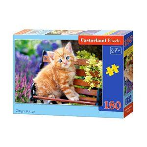Castorland - Рижаво котенце - 180 части - кутия