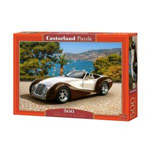 Castorland - Роудстър на Ривиерата - 500 части - кутия