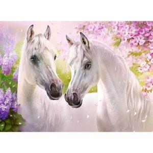 Castorland - Романтика между коне - 300 части - картина