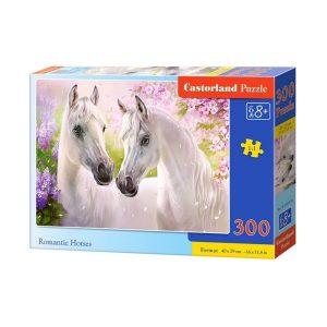 Castorland - Романтика между коне - 300 части - кутия